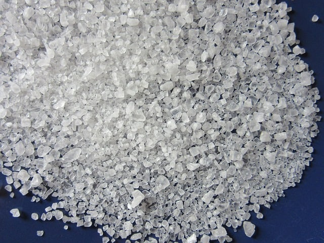 zout voor waterontharders